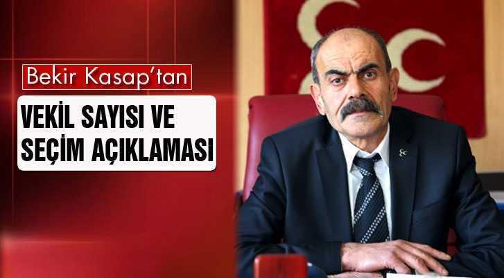 MHP'den Vekil Sayısı ve Seçim Açıklaması