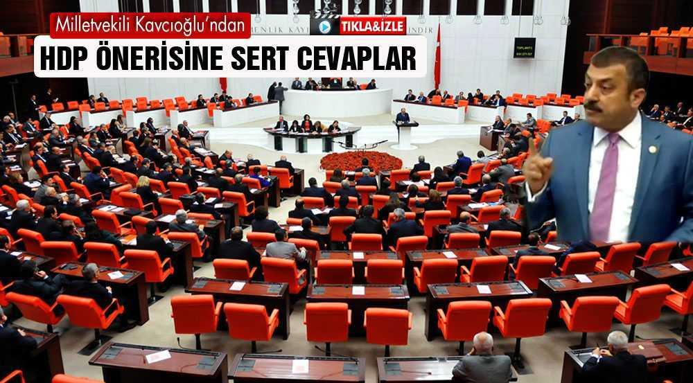 Bayburt Milletvekili Kavcıoğlu'ndan HDP'ye Medya Cevabı