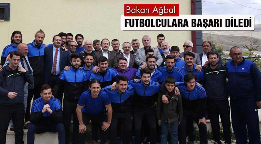 Bakanı Ağbal, Bayburt Grup'lu Sporculara Başarı Diledi