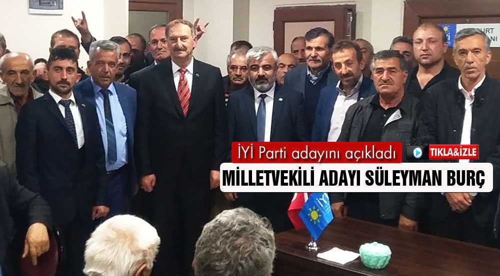 İYİ Parti Bayburt Milletvekili Adayını Açıkladı