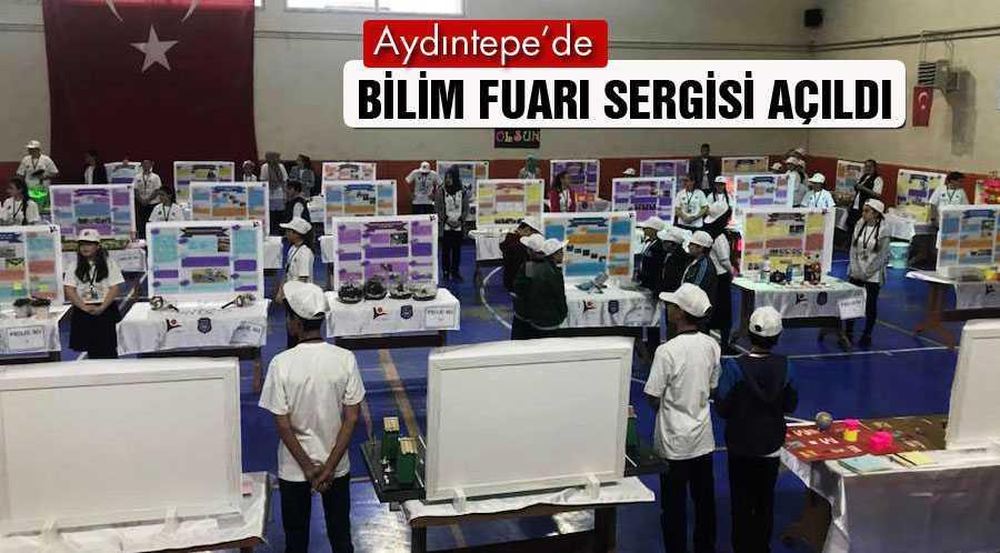 Aydıntepe'de Bilim Fuarı Sergisi Açıldı