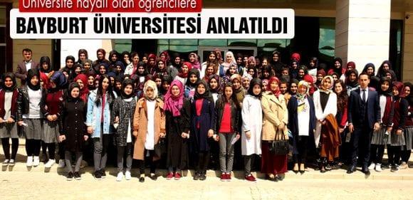 Üniversite Hayali Olan Öğrencilere, Bayburt Üniversitesi Anlatıldı
