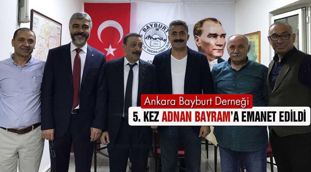 Ankara Bayburt Derneği Adnan Bayram'la 5.Kez Devam Dedi