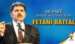AK Parti Bayburt Milletvekili Adayı Fetani Battal Oldu.