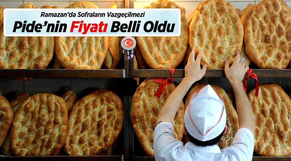 Bayburt'ta Ramazan Pidesinin Fiyatı Belli Oldu
