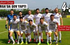 Bayburt Grup, Bursa'da Şov Yaptı