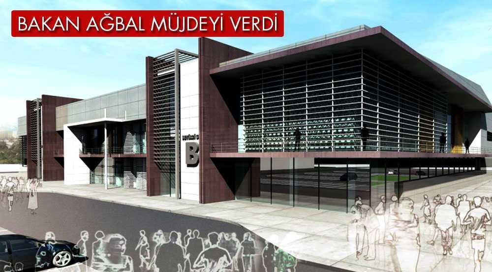 Bakan Ağbal, Kapalı Spor Salonu Müjdesini Verdi