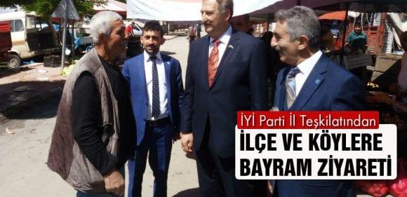 İYİ Parti'den İlçe ve Köylere Bayram Ziyareti