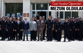 Bayburt'ta Özel Harekat Polis Adaylar Mezun Oldu