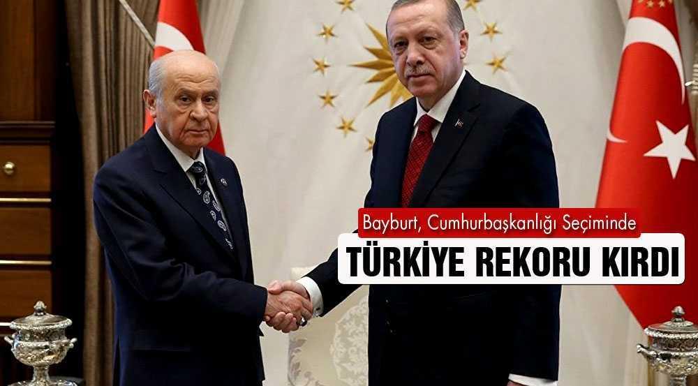 Bayburt, Cumhurbaşkanlığı Seçiminde Türkiye Rekoru Kırdı