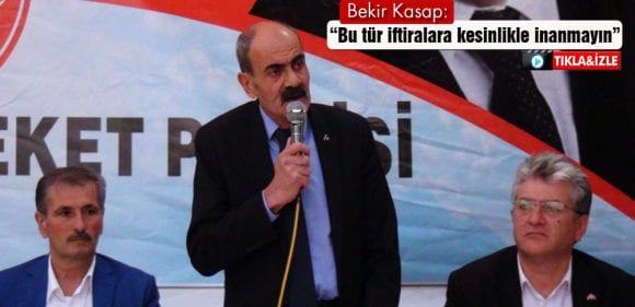 MHP İl Başkanı Kasap'tan Tartışma Yaratacak İddialar