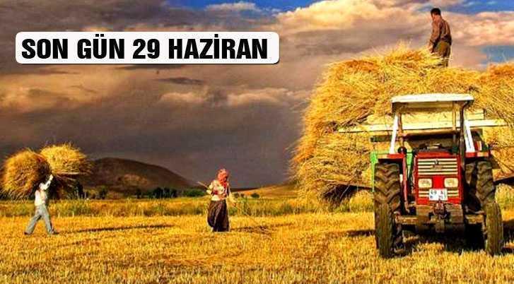 Çiftçi Kayıt Sistemi Başvuruları İçin Son Gün 29 Haziran