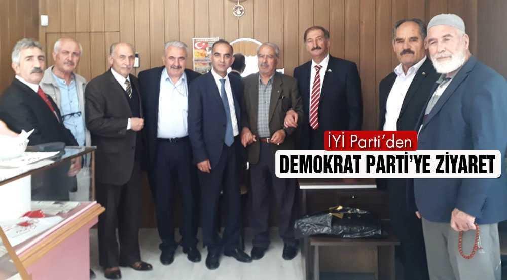 İYİ Parti'den Demokrat Parti'ye Ziyaret