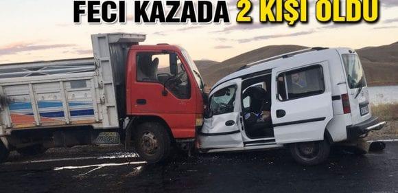 Demirözü'nde Meydana Gelen Feci Kazada 2 Kişi Öldü