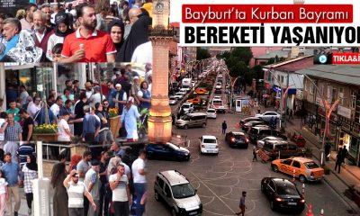 Bayburt'ta Kurban Bayramı Bereketi Yaşanıyor