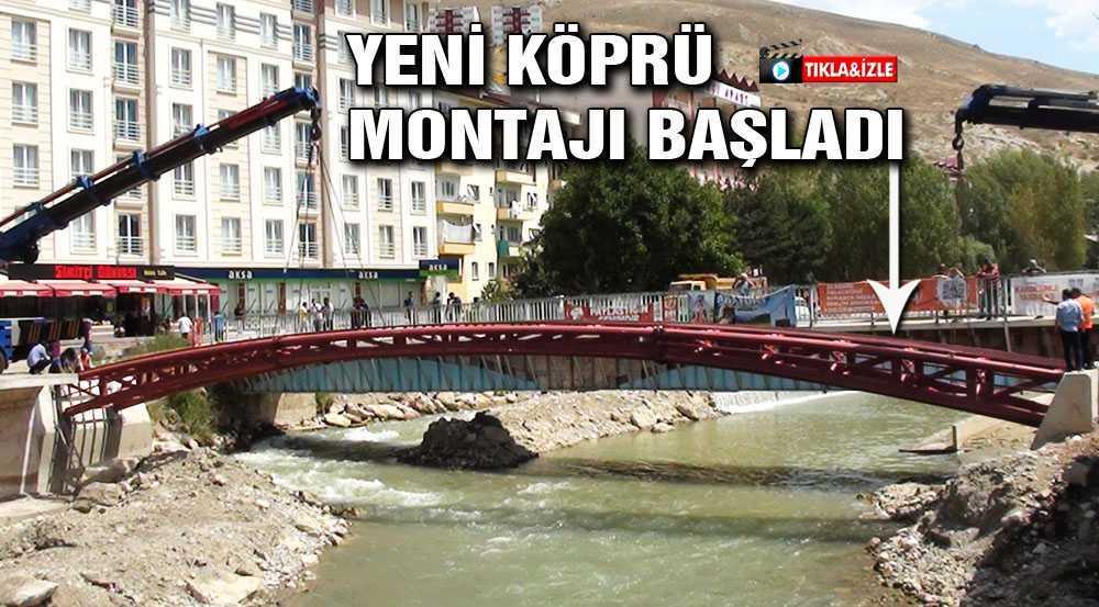 Çoruh Nehri Üzerine Yayalar İçin Yeni Köprü