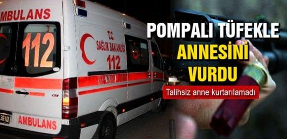 Bayburt'ta Pompalı Tüfekle Annesini Vuran Genç Yakalandı