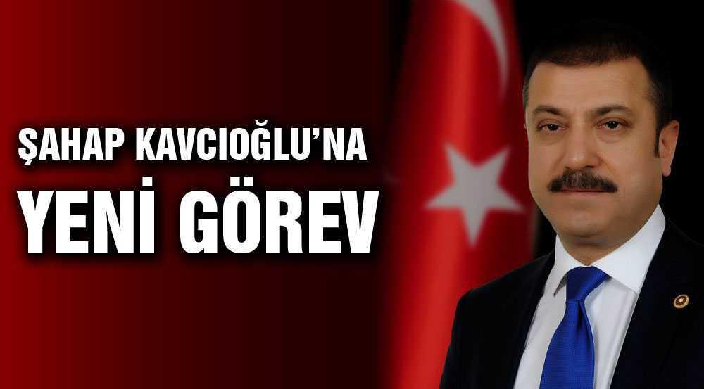 Şahap Kavcıoğlu'na Yeni Görev