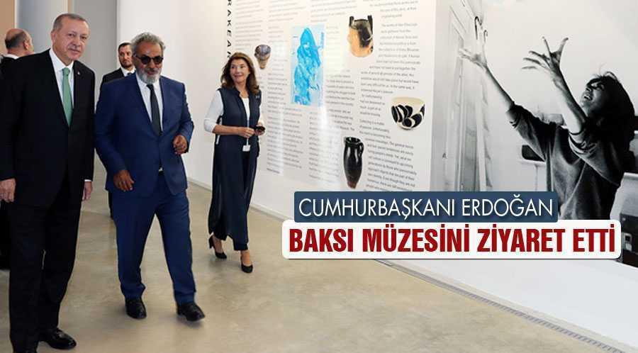 Cumhurbaşkanı Erdoğan'dan Baksı Müzesi Ziyareti