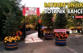 Bayburt'un İlk Botanik Bahçesi
