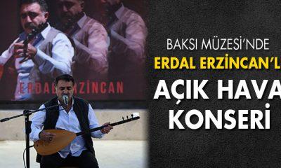 Baksı Müzesi'nde Erdal Erzincan'lı Açık Hava Konseri