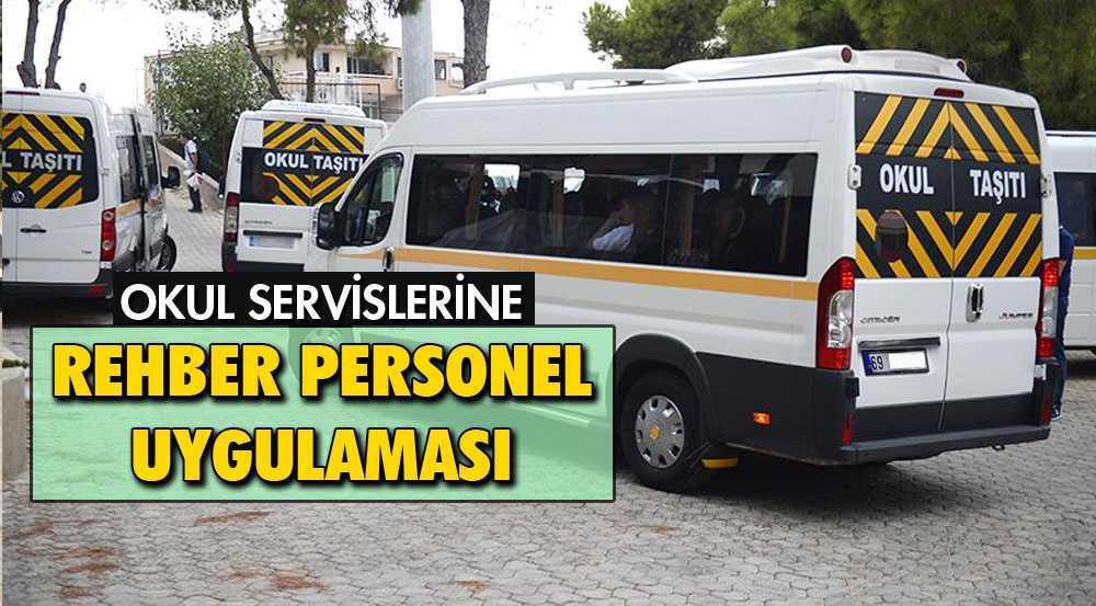 Bayburt'ta Öğrenci Servislerine Rehber Personel Geliyor
