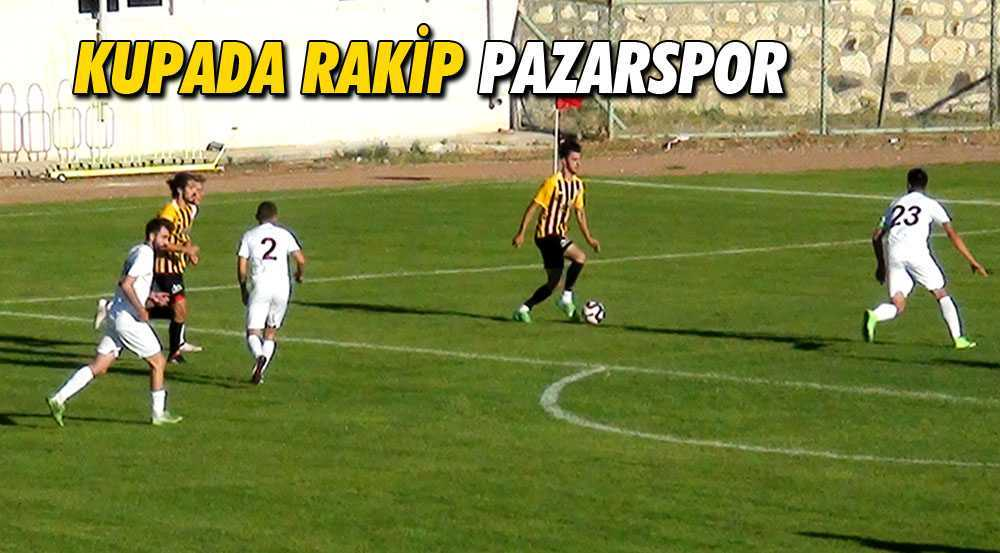 Bayburt'un Ziraat Türkiye Kupasındaki Rakip Pazarspor