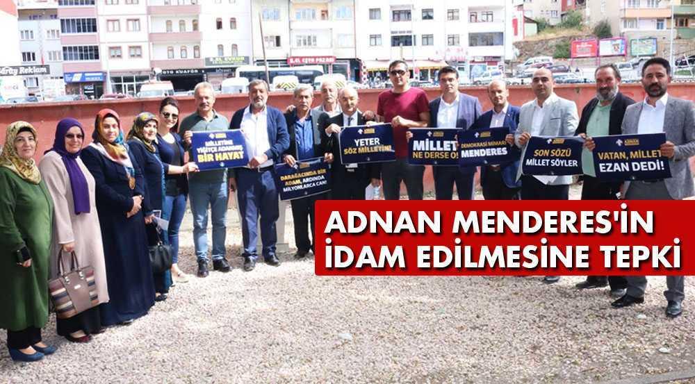 AK Parti Teşkilatından Adnan Menderes'in İdam Edilmesine Tepki