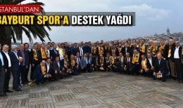 İstanbul'dan Bayburt Spor'a Destek Yağdı