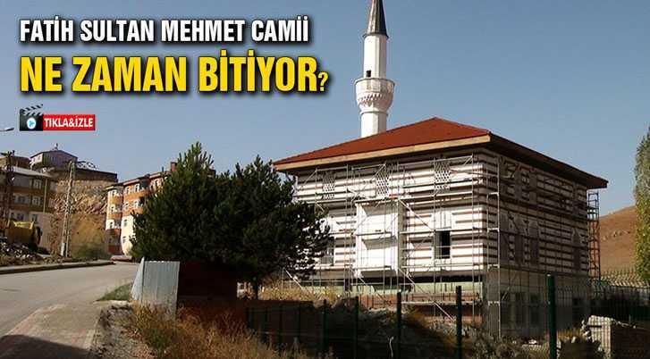 Fatih Sultan Mehmet Camii Ne Zaman Bitiyor?