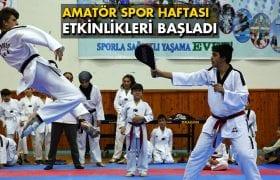 Bayburt'ta Amatör Spor Haftası Etkinlikleri Başladı