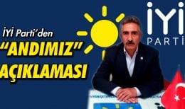 """İYİ Parti Bayburt İl Başkanı Kırıcı'dan """"Andımız"""" Açıklaması"""