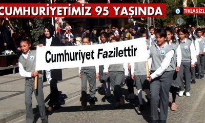Bayburt'ta Cumhuriyetin 95. Yıl Dönümü Kutlamaları
