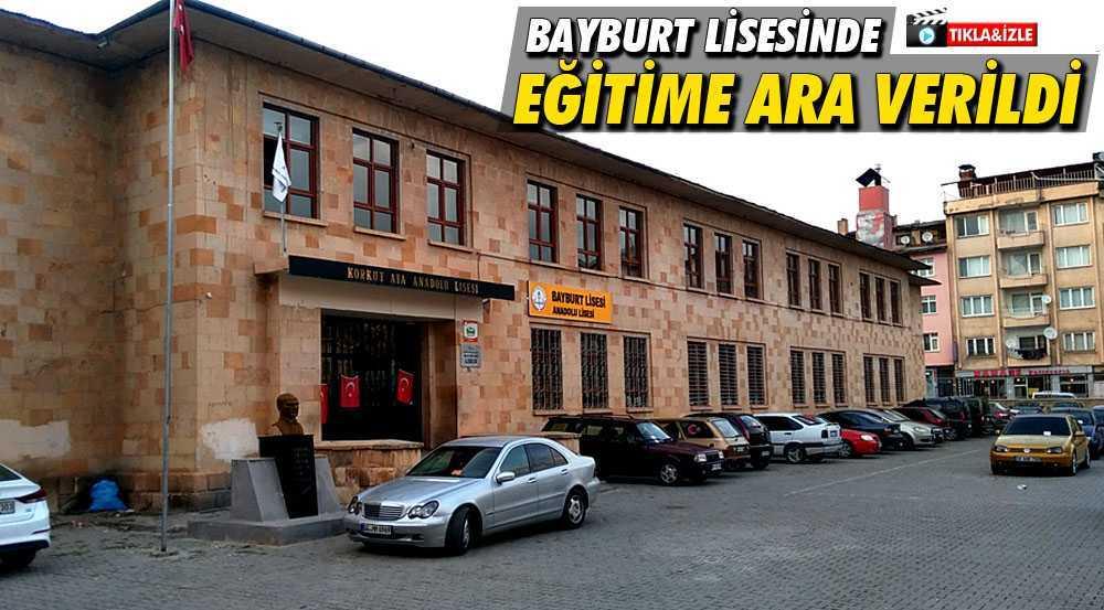 Bayburt Lisesi Binası Tadilata Alındı