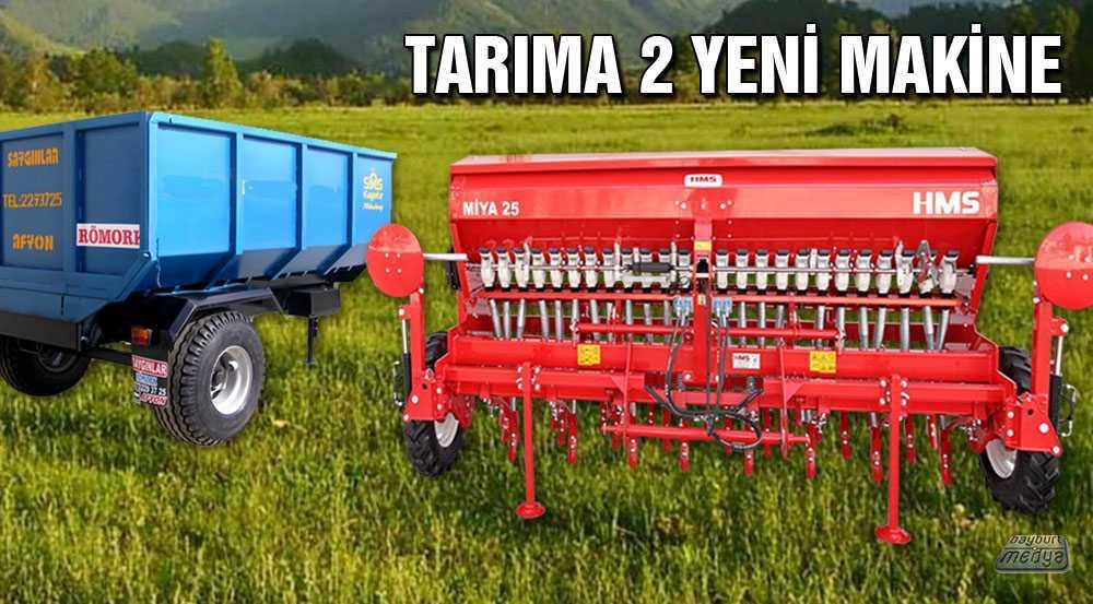 Bayburt Tarımına 2 Yeni Makine Daha Katıldı