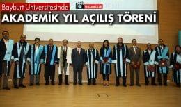 Bayburt Üniversitesi'nde Akademik Yıl Açılış Töreni