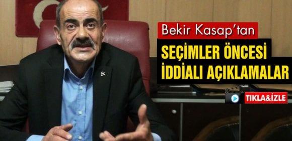 MHP İl Başkanı Bekir Kasap'dan Seçim Öncesi İddialı Açıklamalar