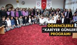 """Bayburt'ta Öğrencilerle """"Kariyer Günleri"""" Programı"""