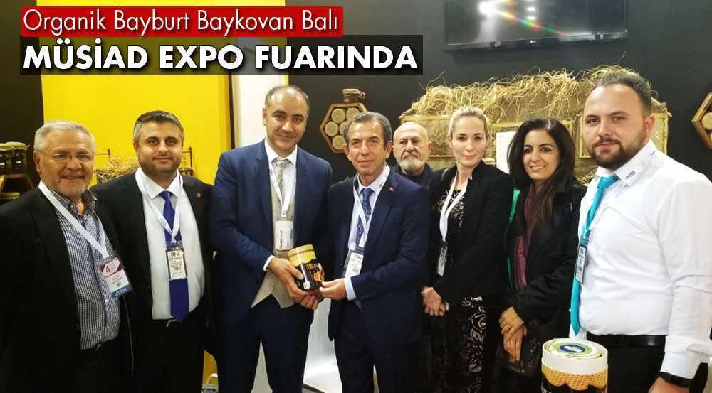 Organik Bayburt Baykovan Balı MÜSİAD EXPO Fuarında