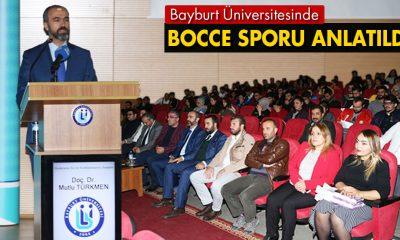 Bayburt Üniversitesinde Bocce Sporunu Anlatıldı