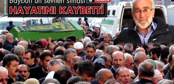 Bayburt'un Sevilen Simalarından Halis Paşaoğlu Hayatını Kaybetti