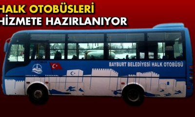 Bayburt'ta Toplu Ulaşıma Halk Otobüsleri Geliyor