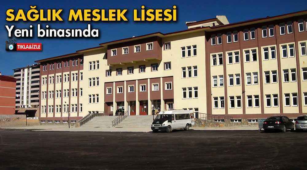 Bayburt'ta Sağlık Meslek Lisesi Yeni Binasında Eğitime Başladı