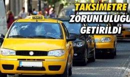 Bayburt'ta Taksilere Taksimetre Zorunluluğu Getirildi