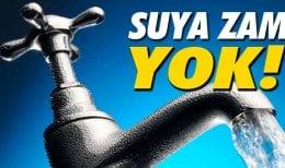 Bayburt Belediyesinden Suya Zam Yok Açıklaması
