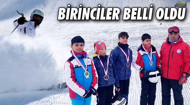Bayburt'ta 2018 Yılı Kayak İl Birincileri Belli Oldu