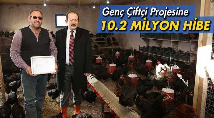 Bayburt'ta Genç Çiftçi Projesine 10.2 Milyon Hibe Desteği