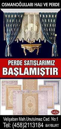 Osmanoğullarında Perde Satışları Başladı