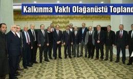 Bayburt Üniversitesi Kalkınma Vakfı Olağanüstü Toplandı