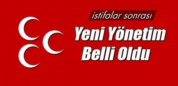 Bayburt'ta MHP'nin Yeni Yönetim Listesi Açıklandı